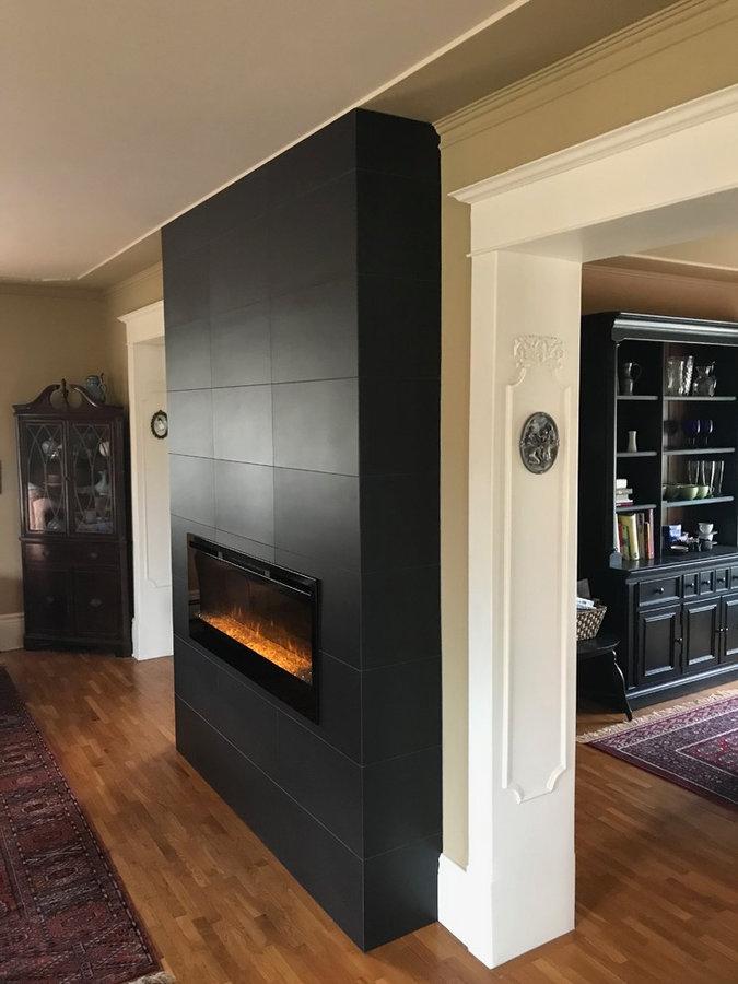 electric fire place design