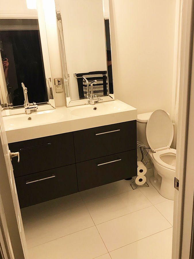 small guest bathroom remodel