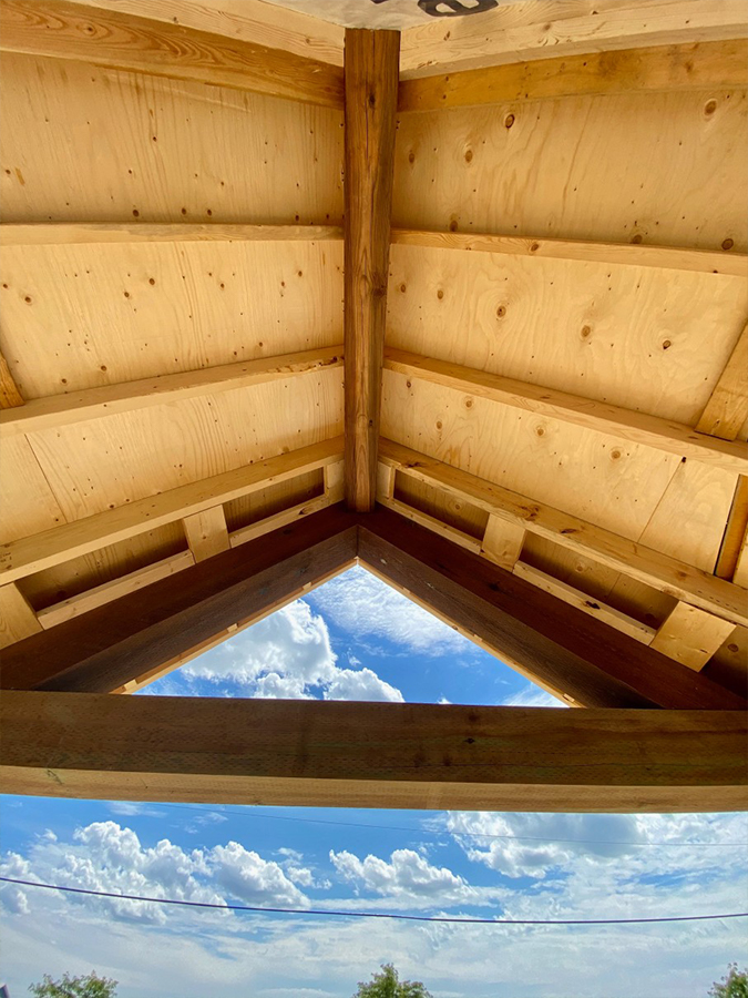 Roof of home additions