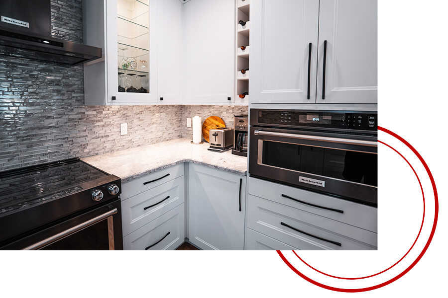 Newly remodeled kitchen in St Catharines