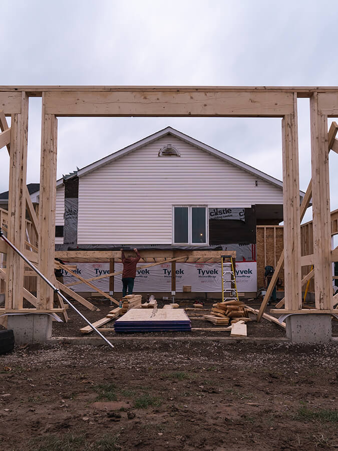 structure for home addition starting (1)